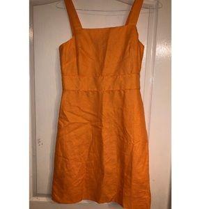 Orange Ann Taylor Dress Size 8